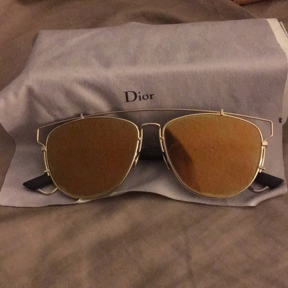 5bc418bfd632 Dior Accessories - Dior technological sunglasses Gold